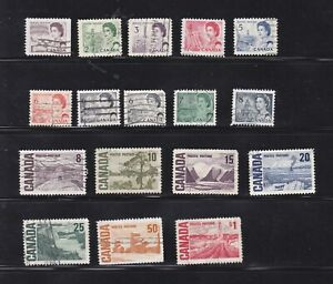"""CANADA 1967 """" Centennial issue """" old used set (354)"""