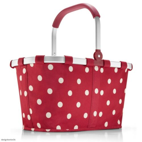 Reisenthel carrybag Ruby dots rojo puntos red-Design cesta de la compra bk3014 nuevo