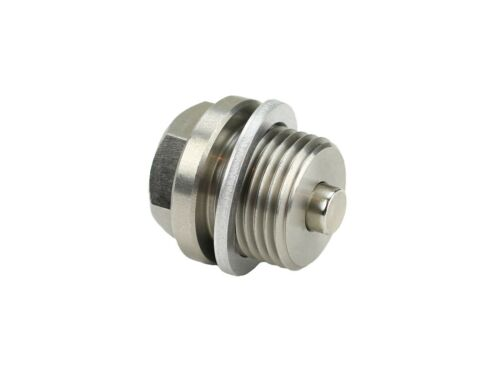 DP007 Stainless Steel Oil Drain Plug with NEODYMIUM Magnet M18 x 1.5 MM