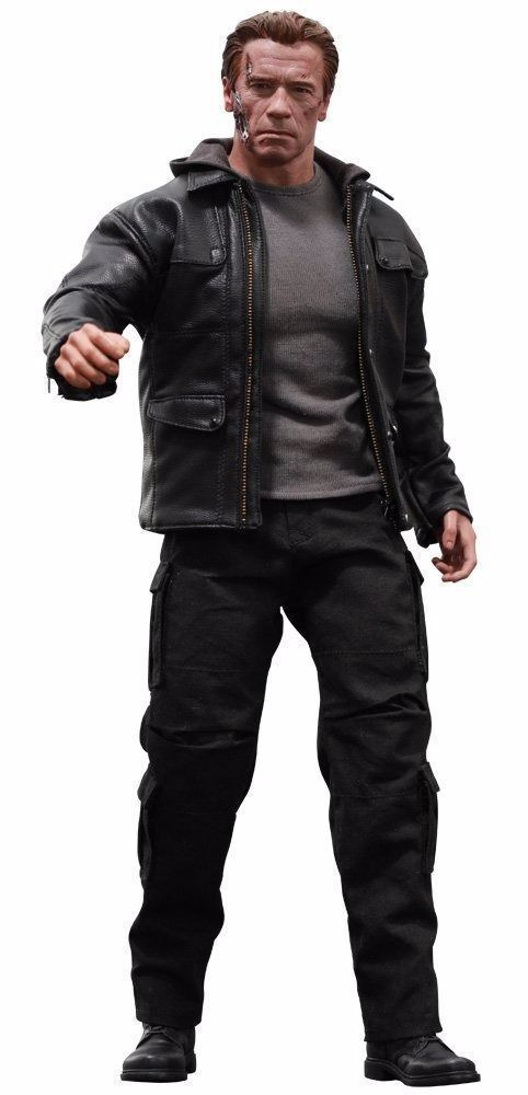 Movie Masterpiece TERMINATOR Genisys T-800 GUARDIAN 1/6 Action Figure Hot Toys