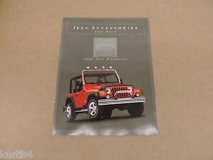 Captivating Image Is Loading 2002 Jeep Wrangler Accessories  Brochure Dealer Literature Catalog