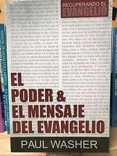 El Poder El Mensaje Del Evangelio paul washer
