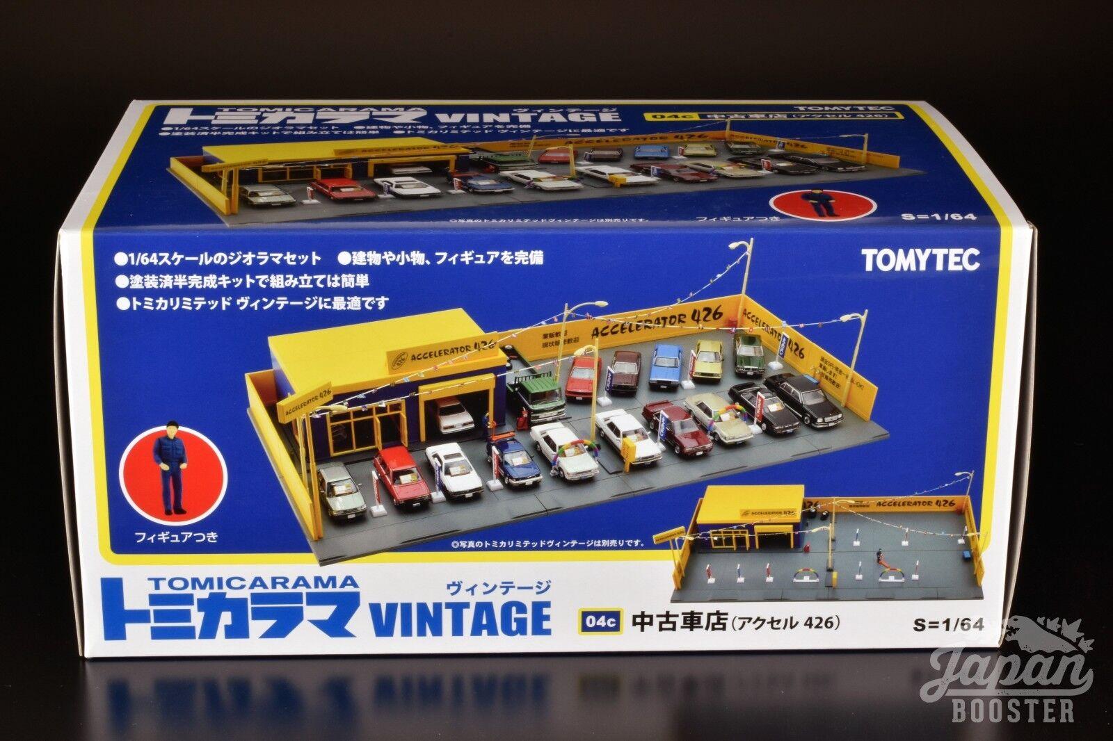 [1/64] tomicarama Vintage 04c utilizado vendedor profesional de automóviles acelerador (426)