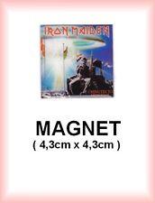 IRON MAIDEN   N° 4  magnet / aimant 4,3 cm x 4,3 cm repro pochette de disque