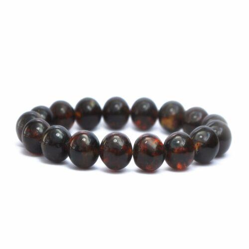 GENUINE BALTIC AMBER BRACELET CHERRY Beads