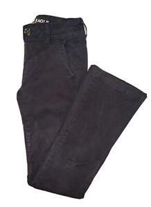 Women S American Eagle Kick Bootcut Pantalones Tamano 00 Corto Ebay