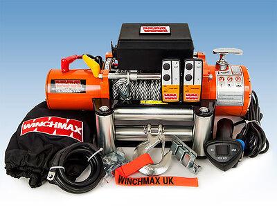 ELECTRIC WINCH 12V 4x4 13000 lb WINCHMAX BRAND