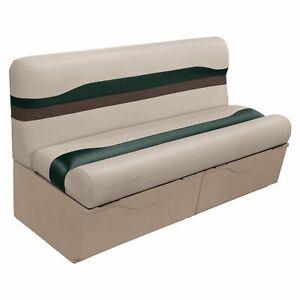 54 Quot Complete Pontoon Boat Bench Seat Mocha Green