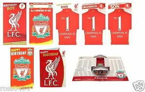 Image Is Loading Liverpool FC Birthday Card Selection Some With Badge