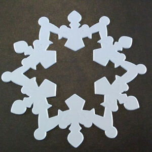 Sizzix Die Cutter Thinlits  Christmas Snowflake  fits Big Shot
