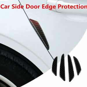 Carbon Fiber Door Side Anti Rubbing Scratch Sticker Trim 4P For BMW All Models