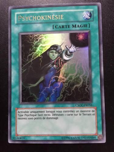 Carte Yu-Gi-Oh Ultra Rare CSOC-FR056 Psychokinésie
