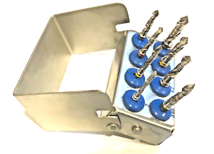 Dental Implant Drill Kit 8 Pc Set External Irrigation Surgical Bur Holder SS