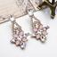 New-Elegant-Women-Crystal-Resin-Flower-Ear-Stud-Eardrop-Dangle-Earring-Jewelry thumbnail 3