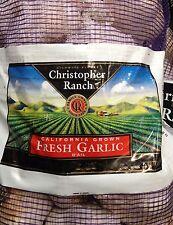 2 Bags - 3 Pounds Fresh Garlic California Grown by Christopher Ranch USA, Gilroy