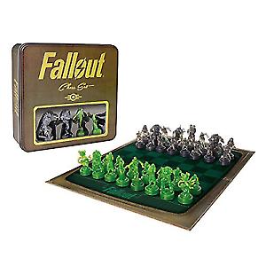 Fallout set di scacchi-Gamestop esclusivo