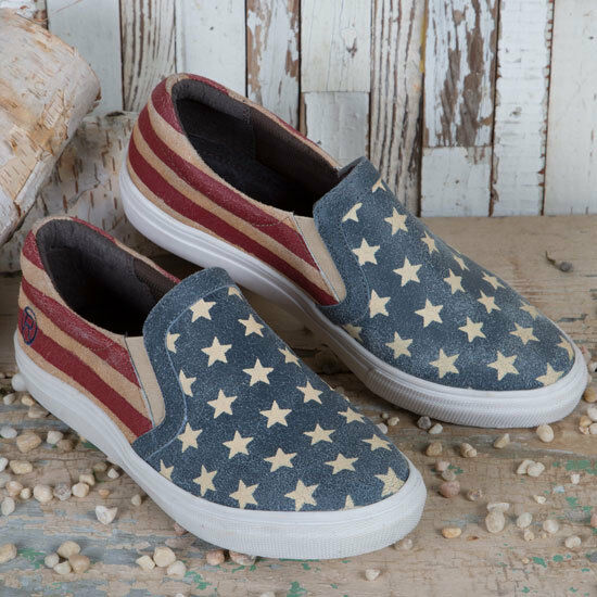 Roper American Beauty Slip Slip Slip On Casuals 5161de ... Auktion