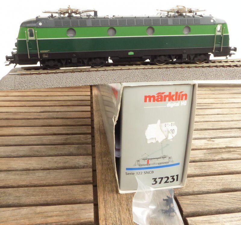 Märklin 37231 H0 Locomotora Multiuso Serie 122 el Sncb Digital Digital Digital y 57f3e8