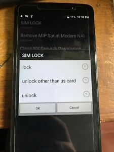 Details about SIM GSM Unlock Remote Service for ZTE MAX XL N9560 boost  mobile and Sprint