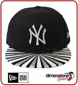 fdc131bffcd CAPPELLINO NEW ERA NY NEW YORK YANKEES METALLIC RAY NERO 9FIFTY ...