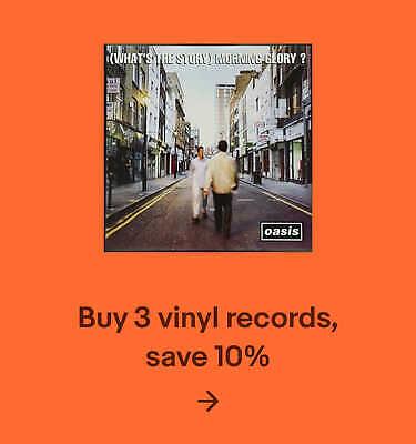 Buy 3 vinyl records, save 10%