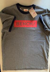 Mens  Crew Neck T Shirt BENCH