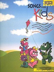 Chansons Pour Enfants Enregistreur Neuf 000710392-afficher Le Titre D'origine