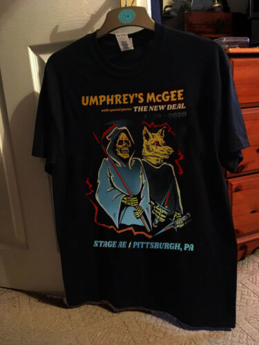 Umphreys MCgee SHIRT TOUR 1-24-2020 STAGE AE PITTSBURGH Size S-5XL
