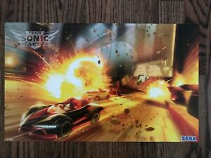 Details about BRAND NEW 2019 SXSW Team Sonic Racing Poster SEGA Rare  Exclusive 11x18 Ps4 XBox