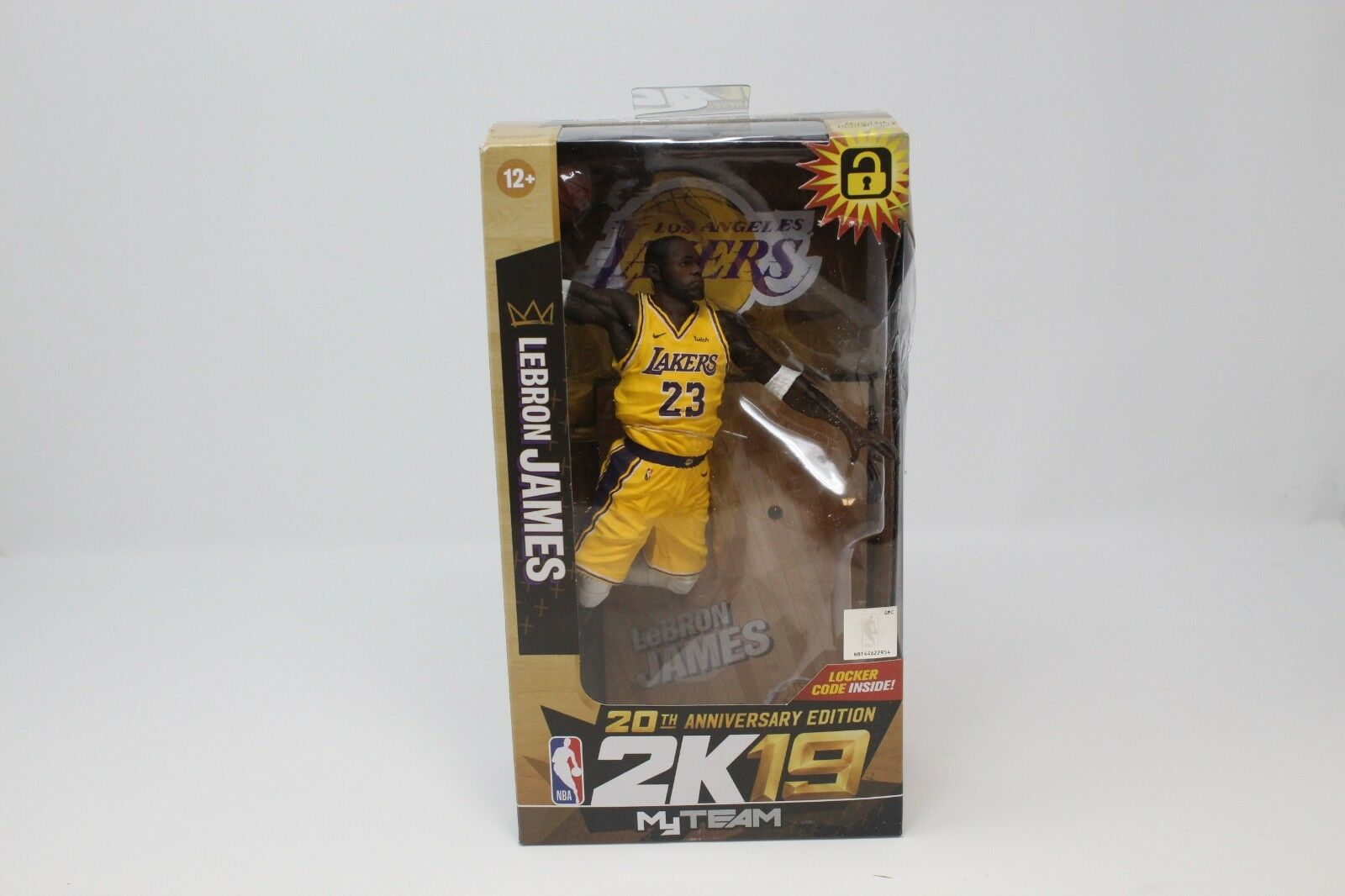McFarlane NBA 2K19 20 e årsdagen Exklusiva Lakers LeBron James Figur