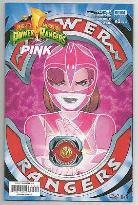 POWER RANGERS PINK #1 UNLOCK MORPHING COVER