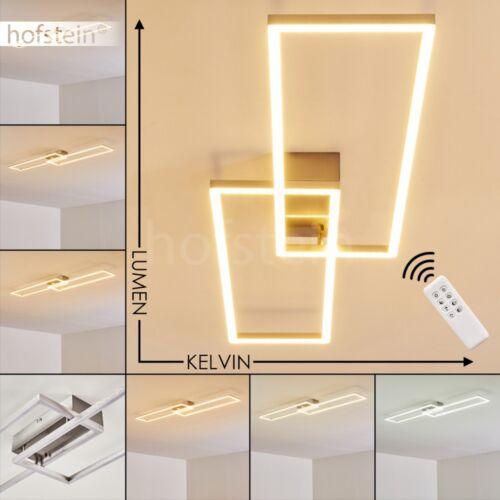 dimmbare Flur Lampen Design LED Decken Leuchten Wohn Schlaf Zimmer Fernbedienung