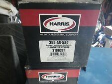 Harris 355 Ar 580heavy Duty Single Stage Flowmeter Regulator Cga 580 No Hose