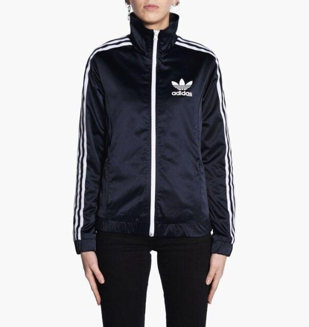 9ca66bf2289 adidas Europa Track Jacket Women's Legend Ink XS for sale online | eBay