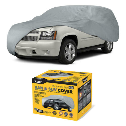 Water Resistant Van /& SUV Car Cover for GMC Indoor Dirt Dust Scratch Protection