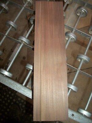 """1pc Walnut Lumber Wood Air Dried Board 57s Carving Block 14 3/4""""x 3 3/4""""x 2 3/8"""""""