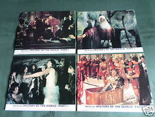 HISTORY OF THE WORLD PART 1 - MEL BROOKS  - SET OF 8 LOBBY CARDS- 8X10