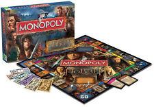 Lo Hobbit la desolazione di Smaug Monopoly BRAND NEW 6 X METAL token