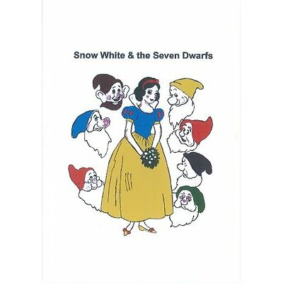 Reproduction Vintage Snow White & The Seven Dwarfs Sewing Pattern