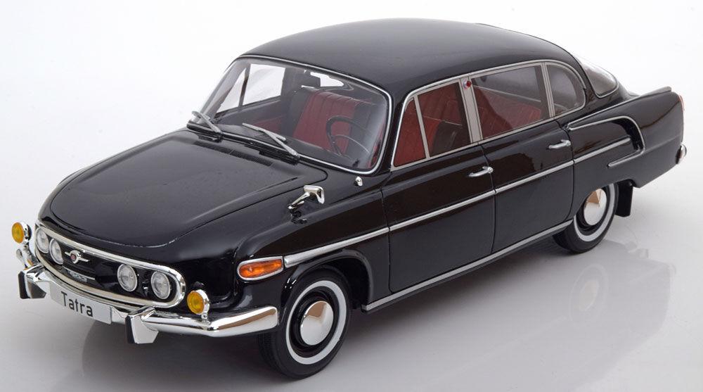 1969 Tatra 603 Schwarze Farbe von Bos Modele Le Of 1000 1 18 Maßstab