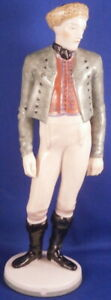 Antique-20thC-Nymphenburg-Porcelain-Gentleman-Figure-Figurine-Porzellan-Figur