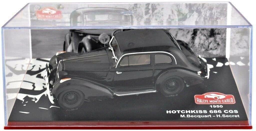 Hotchkiss 686 CGS Becquart Rallye Monte-Carlo 1950 1 43 IXO Neuf Boite Vitrine
