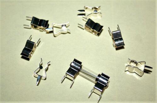 10 fusibles fino-soporte clip B para 5x20 copia de seguridad fino 732 remanentes de