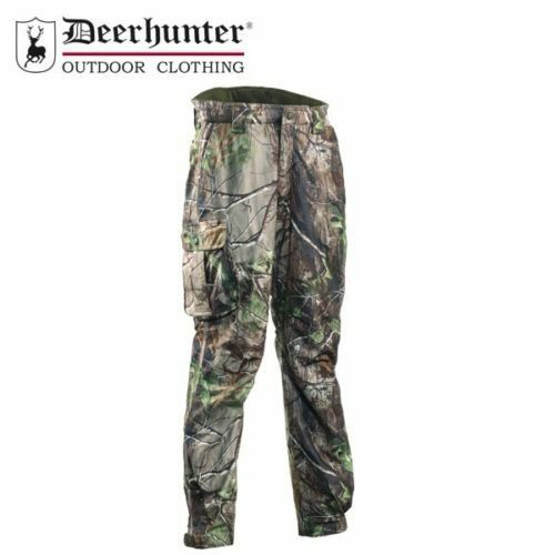 SALE Deerhunter Waterproof Ram Realtree Trousers Shooting Hunting Stalking Pants