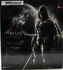 Batman-Arkham-Knight-Robin-Play-Arts-Kai-Action-Figure-IN-STOCK-USA-SELLER