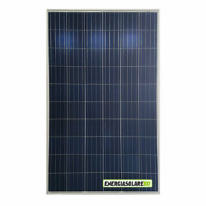 Photovoltaic Solar Panel 280W 24V 270W Polycrystalline 5 BUS BAR