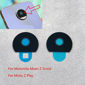 reputable site 2e851 83c90 Details about Replacement Rear Back Camera Lens Cover For Motorola Moto Z  Droid / Moto Z Play