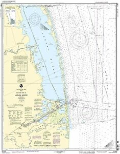 NOAA Chart Southern part of Laguna Madre 26th Edition 11301