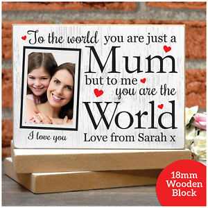 PERSONALISED MUM You Are Unique Gift Present IDEA Keepsake For Birthday Her