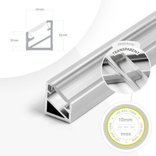 LED Aluminium Profile Aluminum profiles 2m 1m Aluminium Rail LED Strip for LED Strips